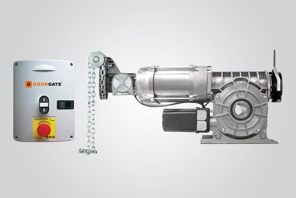 kit motor rápido para porta de enrolar