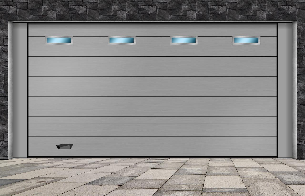 portes sectionnelles résidentielles