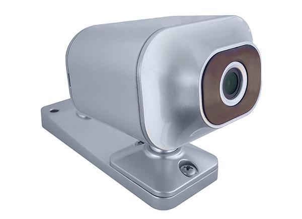 câmera abertura de porta