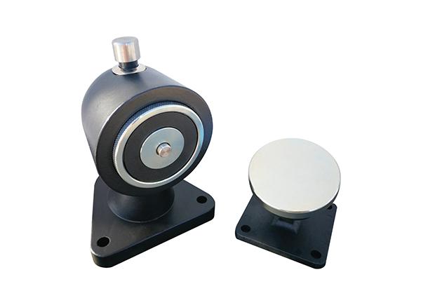 eletro íman chão com pulsador