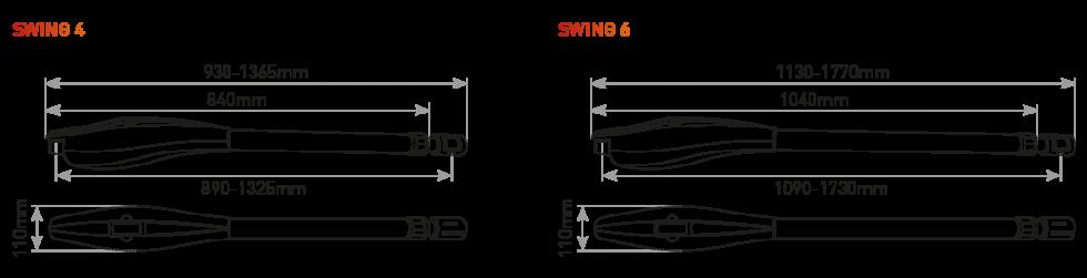 medidas motor swing